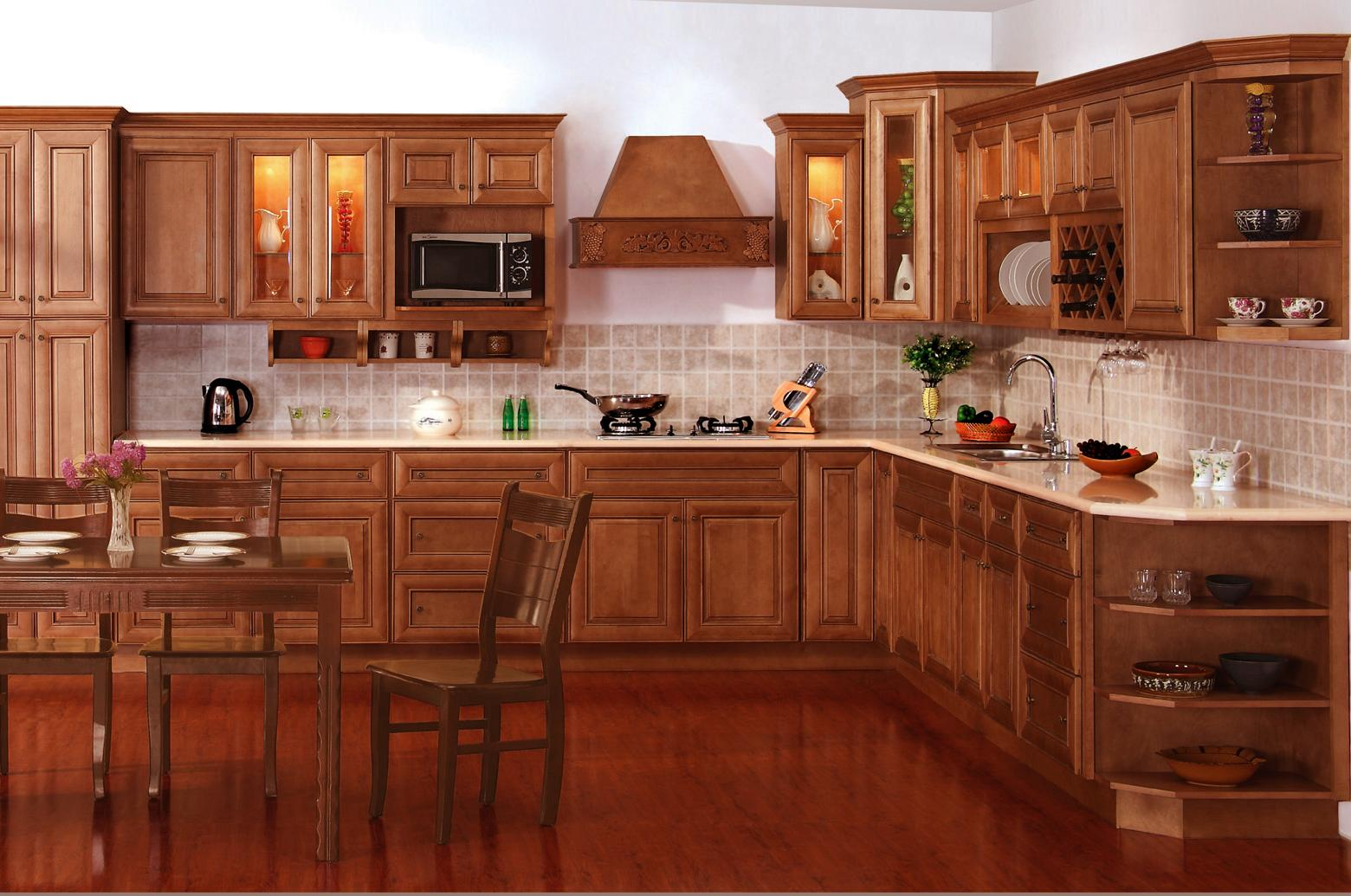 The cabinet spot april 2011 for Kitchen cabinet finishes