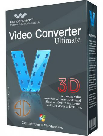 Wondershare Video Converter Ultimate 6.0.3.2 With Crack