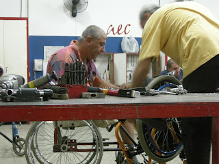 Images describe Peoples with disablities working for people with disablities