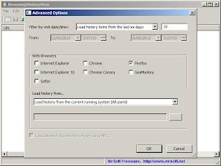 Cara Menyimpan Riwayat Web Browser Firefox, Chrome, Internet Explorer, Dan Safari Dengan BrowsingHistoryView-3
