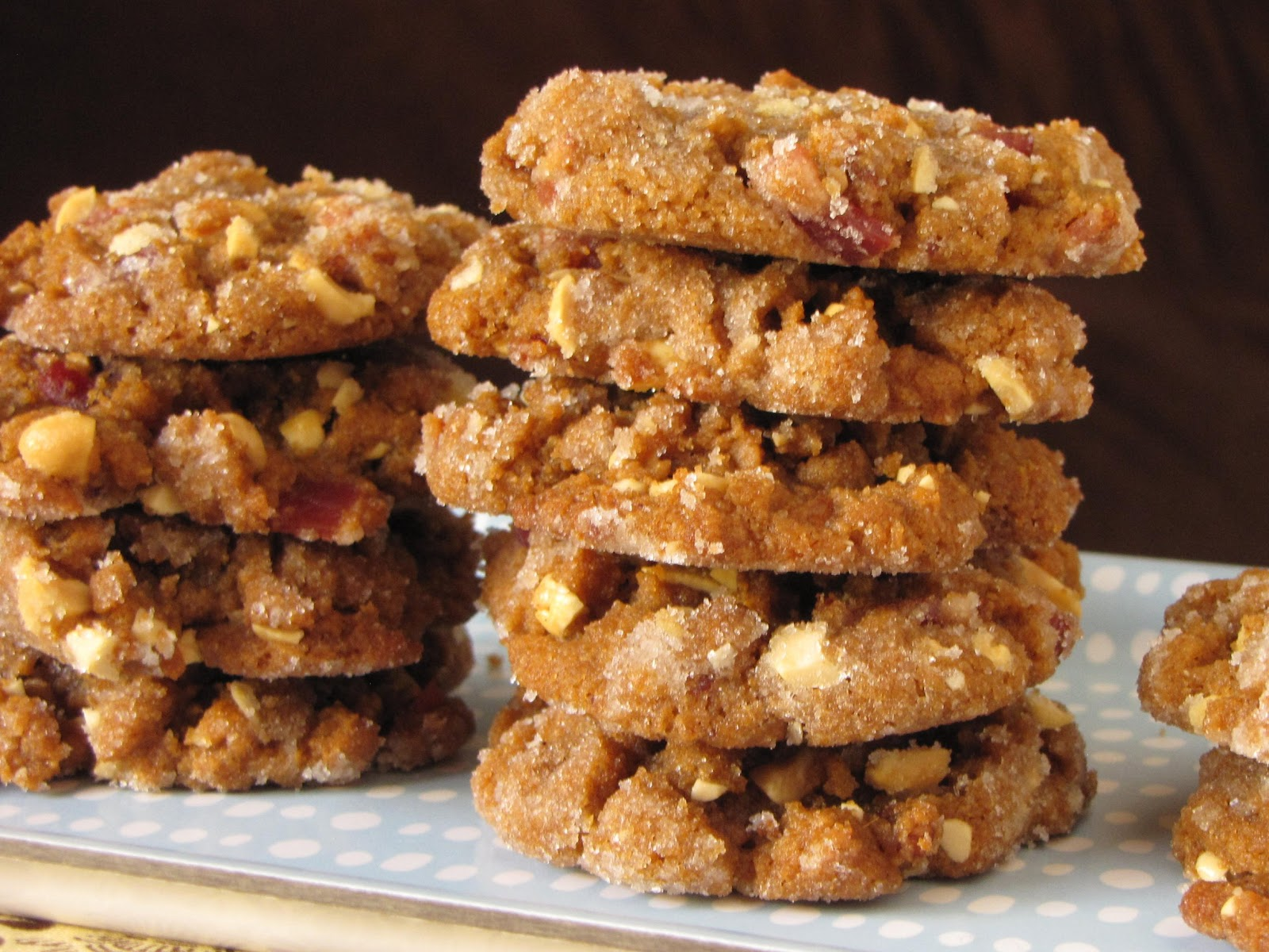 Peanut Butter Bacon Cookies Recipe — Dishmaps