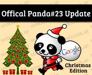 Official Panda #23 Algorithm Update: Christmas Edition