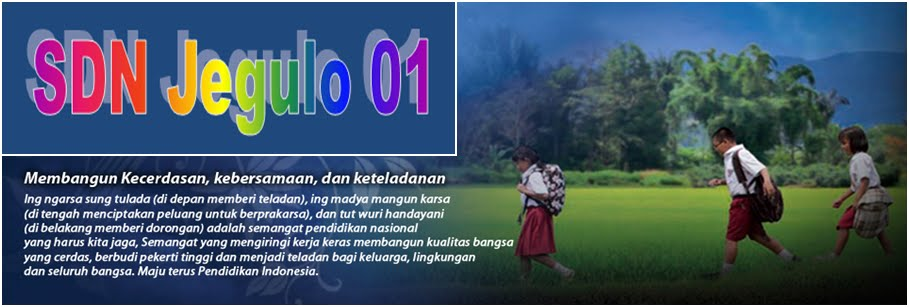 SDN Jegulo 01 - Soko - Tuban