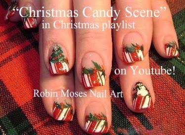 Robin moses nail art christmas nails xmas nails christmas christmas nail art up for today prinsesfo Image collections