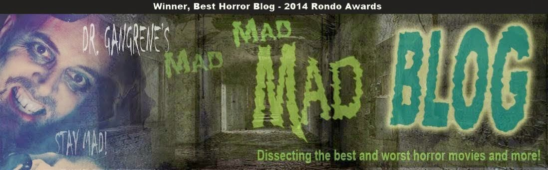 Dr. Gangrene's Mad Blog