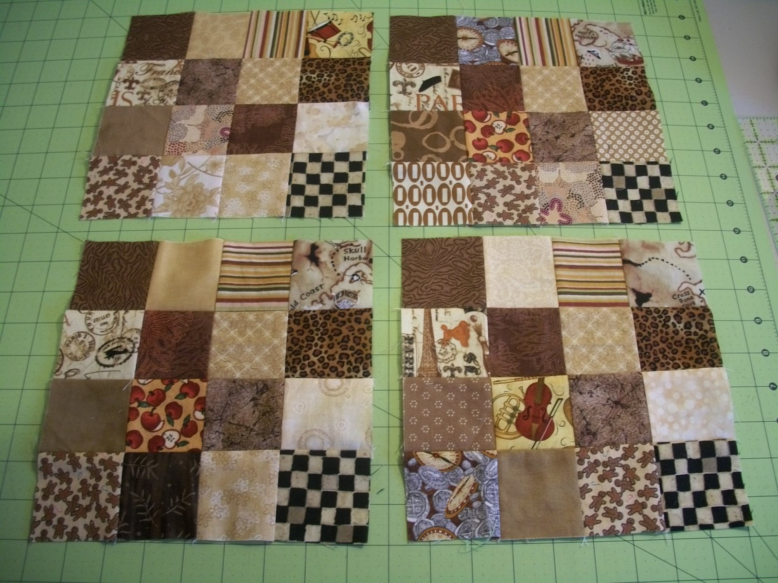 Sew Cook And Travel 2015 Rsc October Brown Week 1 And