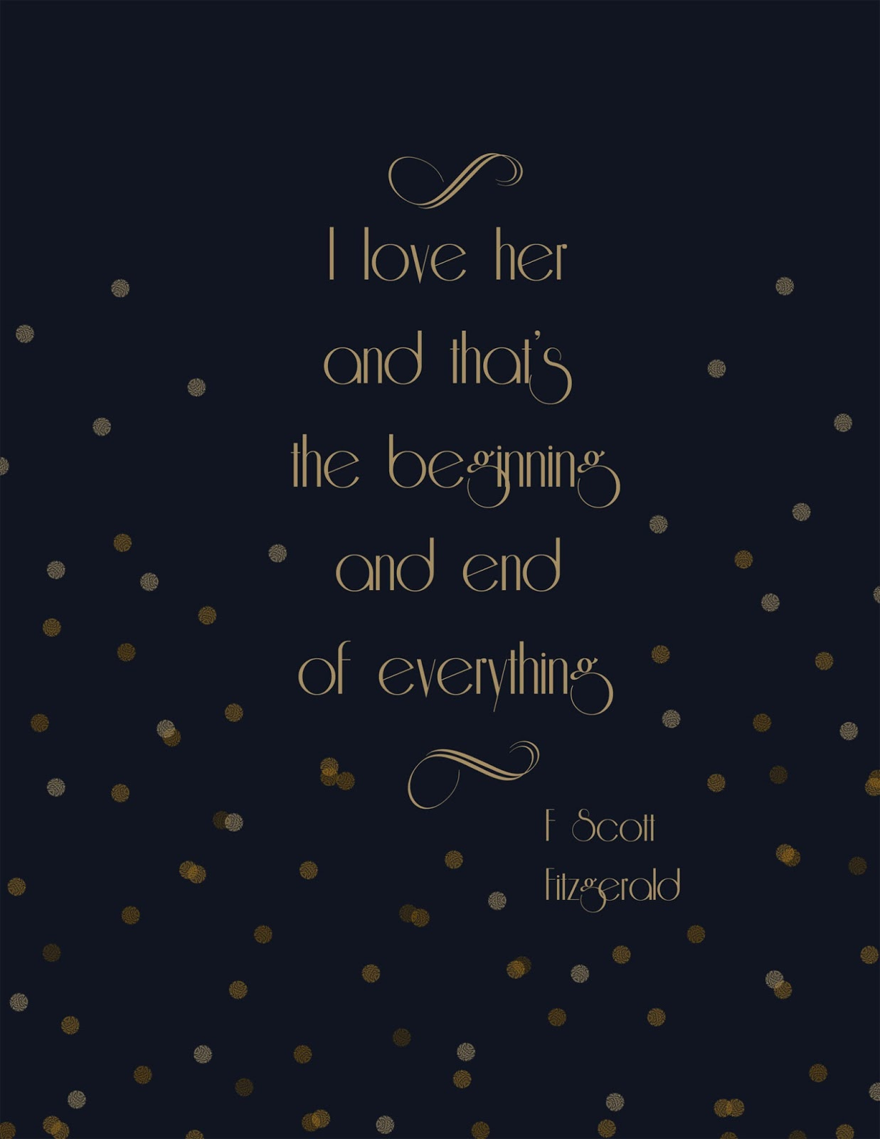 Scott fitzgerald love quotes quotesgram