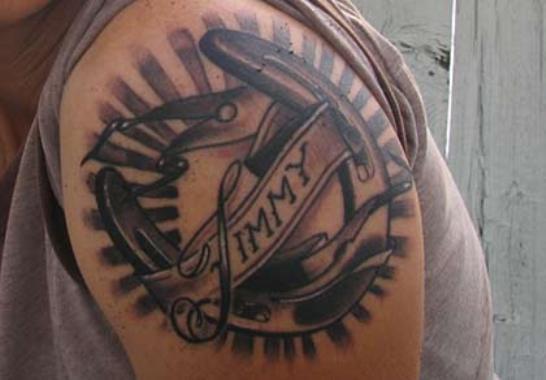 Animal Tattoo Ideas: Horseshoe Tattoos