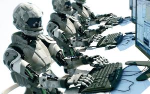 Роботы, роботы! Покупатели на...ты!