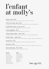 l'enfant at molly's menu
