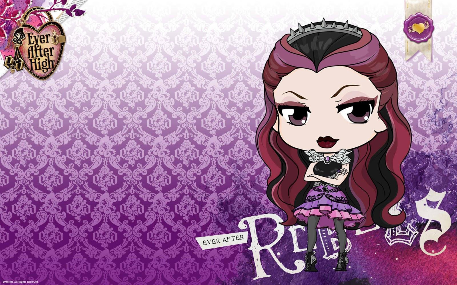Ever after high raven queen wallpaper