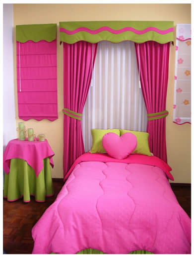 Cortinas De Baño Rosa:diferentes tipos de cortinas colores y modelos cubrelechos de