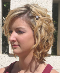 Curly Hairstyles for Prom Short Hair