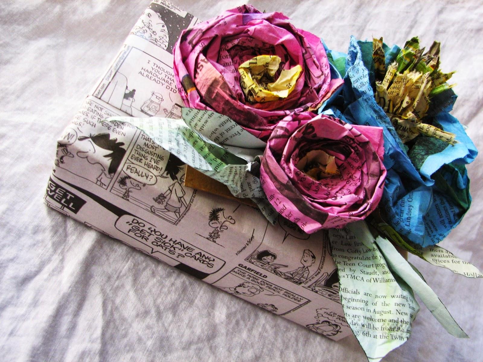 Цветы из бумаги своими руками. Мастер класс 45