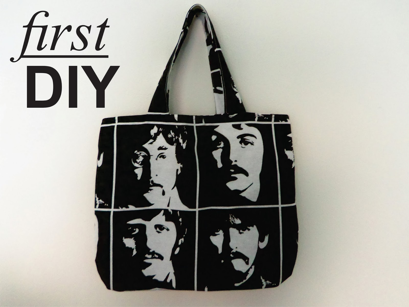 diy beatles bag