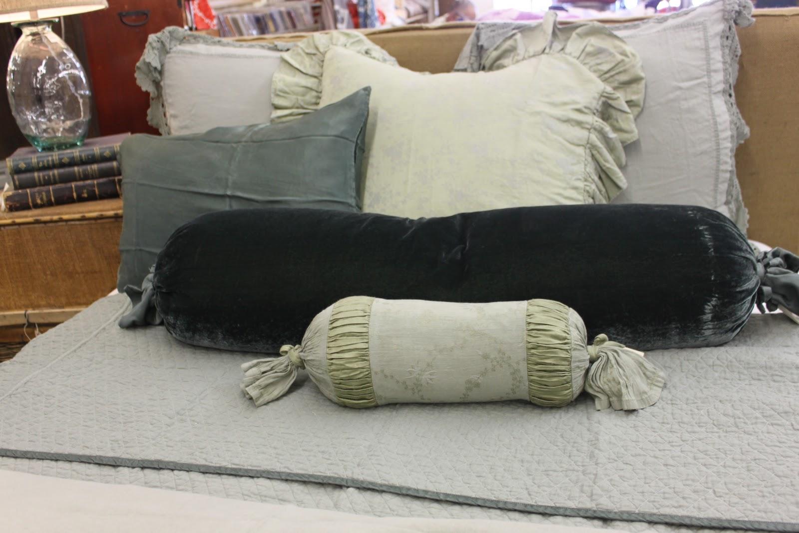 Roll Pillow in Celeste