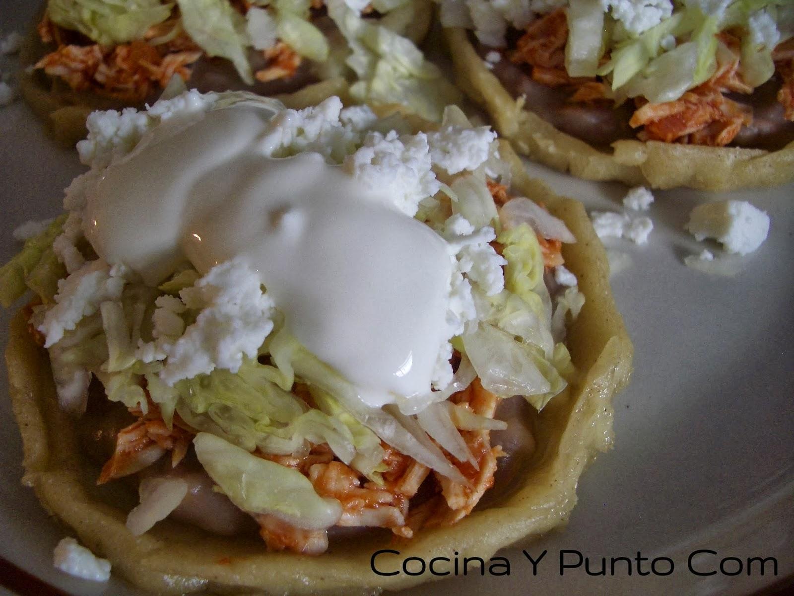 Cocina y punto com antojitos mexicanos for Cocinas puntocom