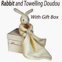 Rabbit and Towell Comforter