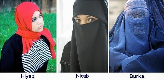 Hiyab - Nicab - Burka