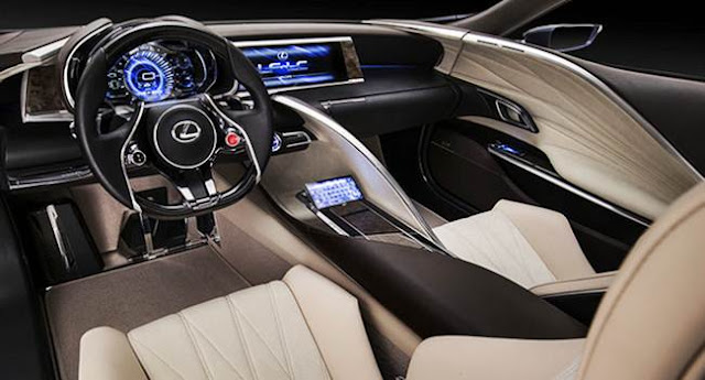 2016 Lexus LF-LC Concept Review