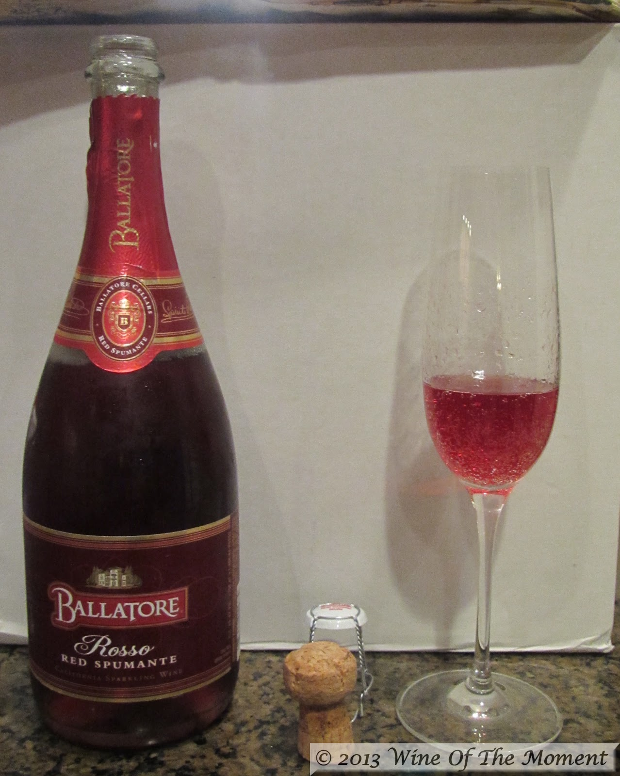 Wine Of The Moment Rosso Spumante Ballatore Cellars