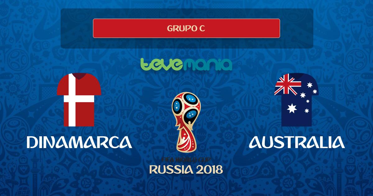 Dinamarca y Australia empataron 1-1 en el grupo C del mundial