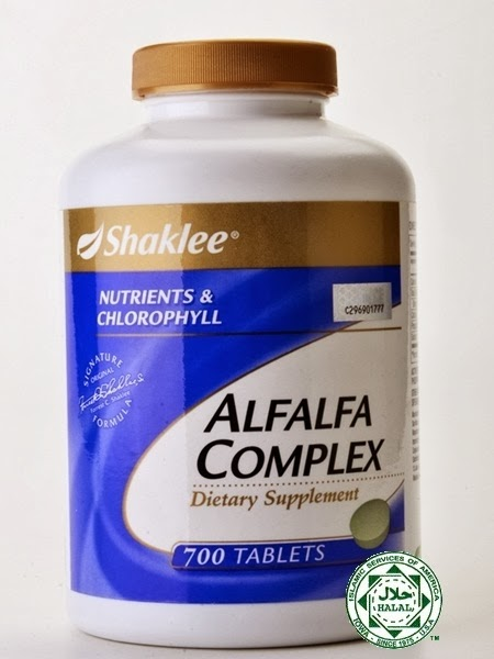 Alfalfa complex shaklee set turun berat badan berkesan Shaina Shop