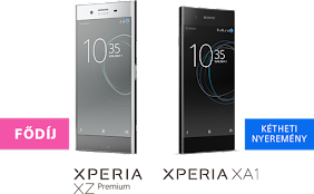 Nyerj egy vadiúj Xperia okostelefont!