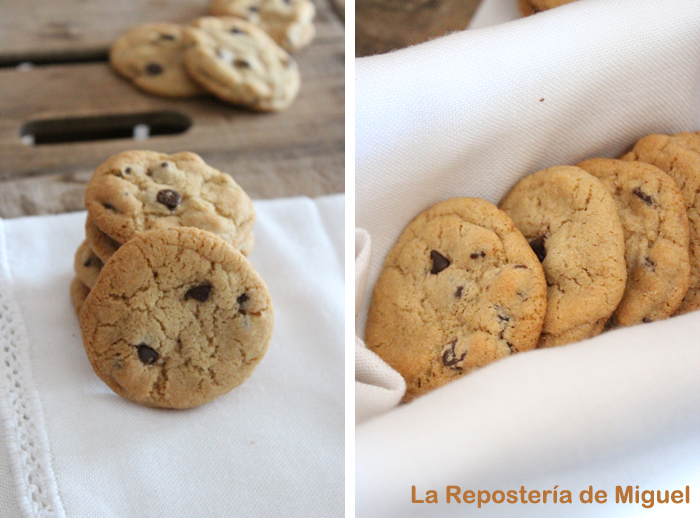 Dos fotografías en esta imagen. Por un lado una pila de galletas con una apoyada y mirando hacia nosotros y en la otra varias galletas vistas de perfil apoyadas unas con otras.
