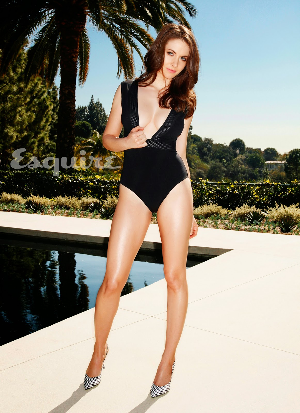 Alison Brie in an Esquire mag photoshoot