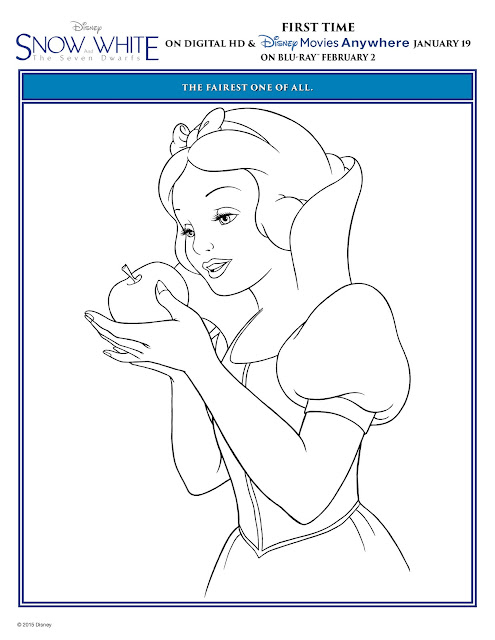 Snow White_Disney_Coloring