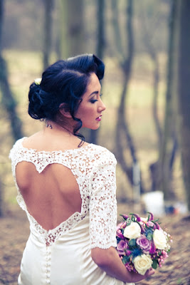 Gorgeous Wedding Dress Ides With A Heart Shape Cut Into The Back Of Gown
