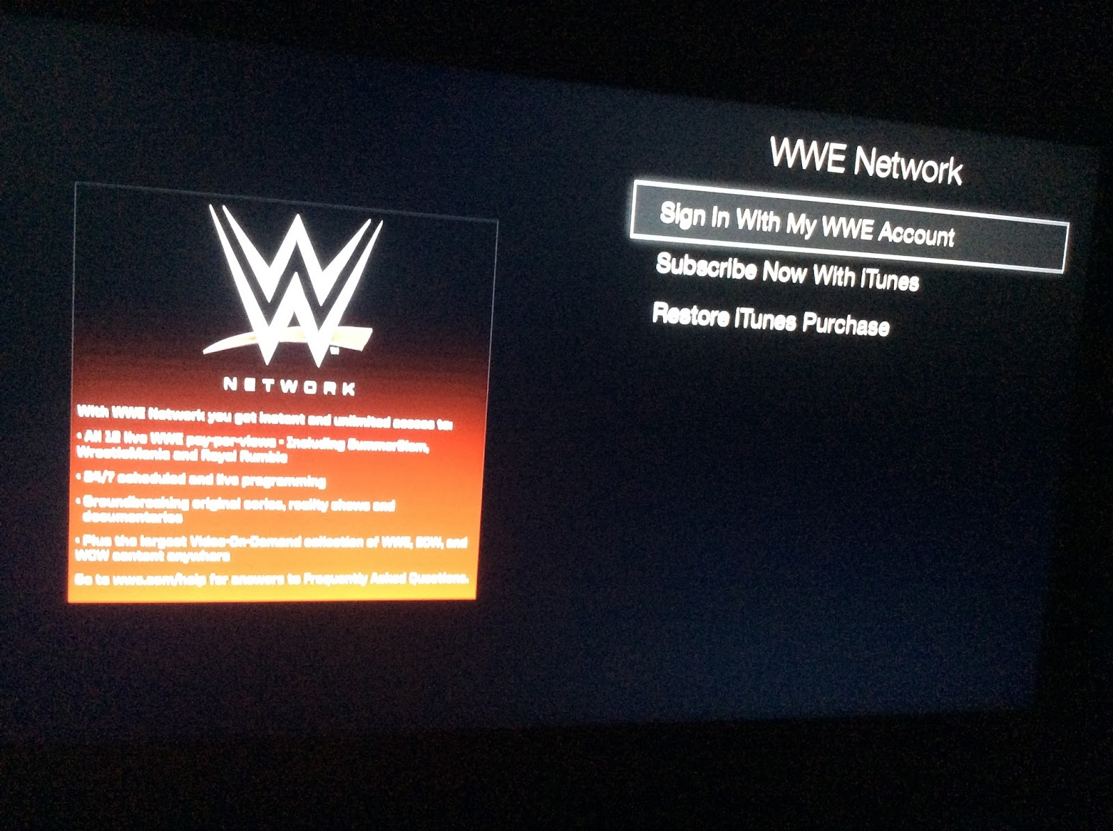 WWELEAKS.ORG: How To Get The WWE Network Early On A UK