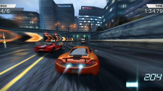 NFS Most Wanted Apk SD Data free download