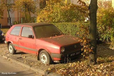 Zdjęcia Volkswagen Golf II CL