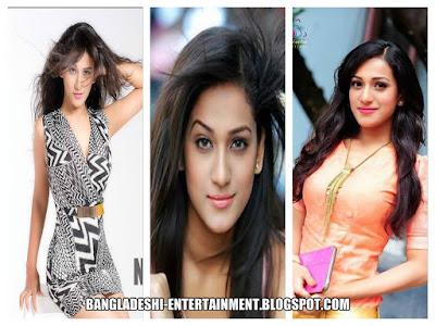 Bangladeshi Model Nafisa Kamal Jhumur