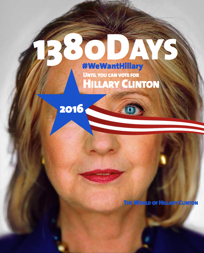 [Pilt: 1380+days+until+you+can+vote+for+Hillary...illary.png]