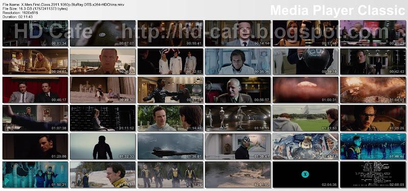 X-Men-First Class 2011 video thumbnails