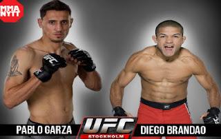 Pablo Garza vs. Diego Brandao