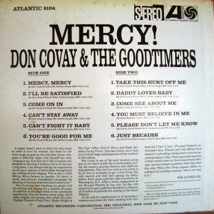 DON COVAY - Mercy! - b