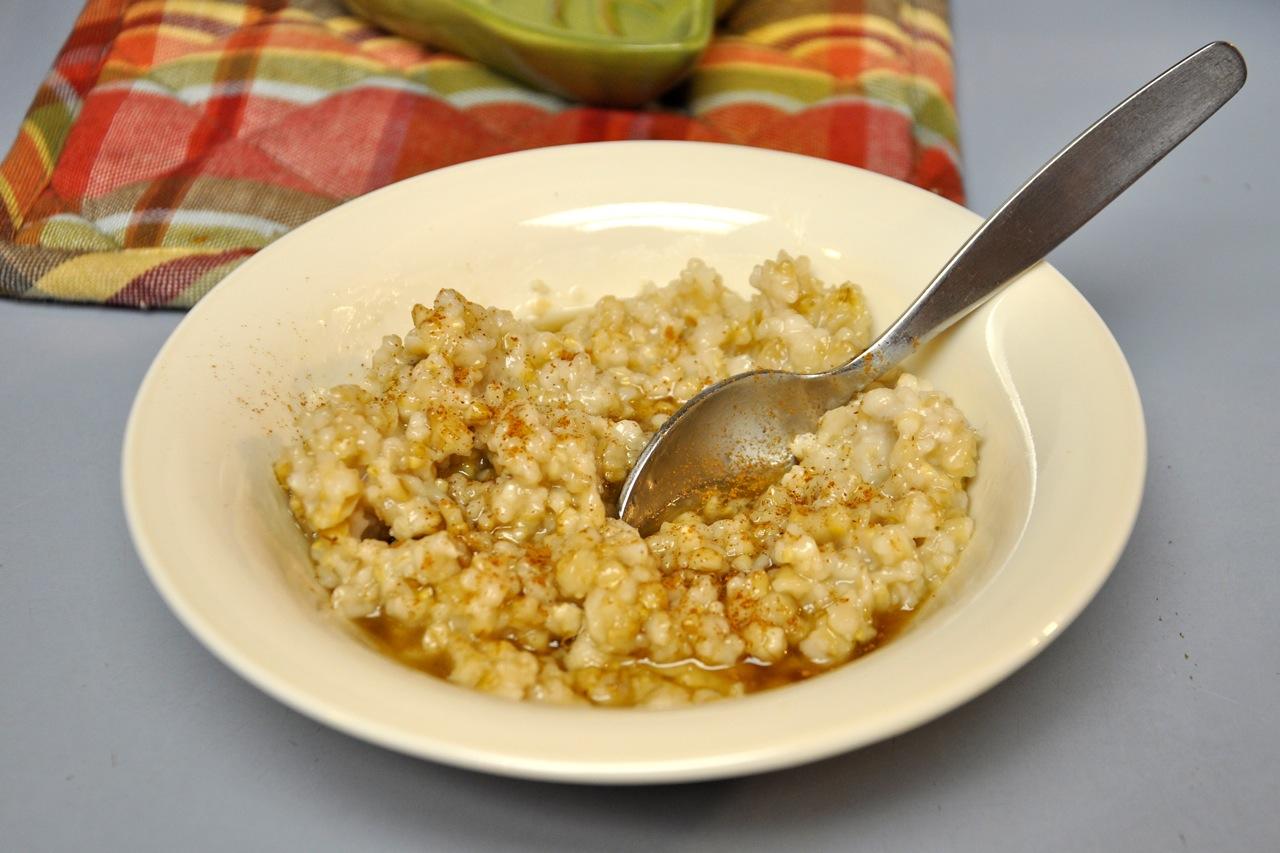 BentOnBetterLunches: Crock Pot Oatmeal Goodness!
