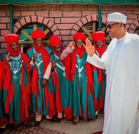 President Buhari Visits Emir of Daura In Katsina