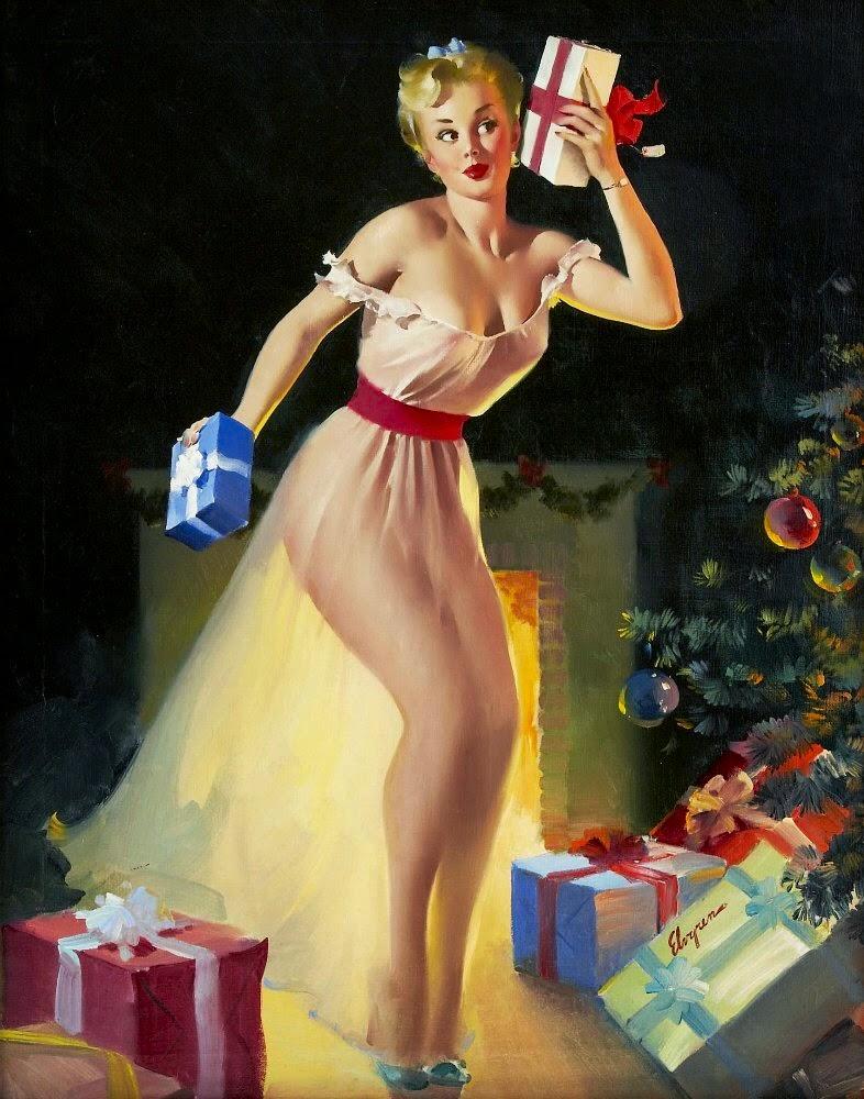pintura sobre o natal
