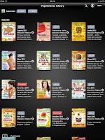 Revista dos Vegetarianos no iPad