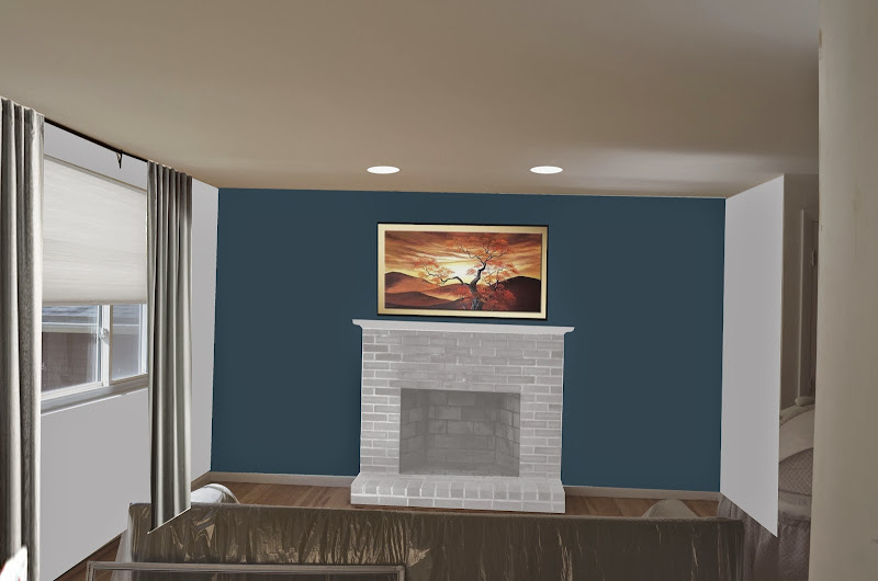 Wall Colors to Paint with Red Brick Fireplace