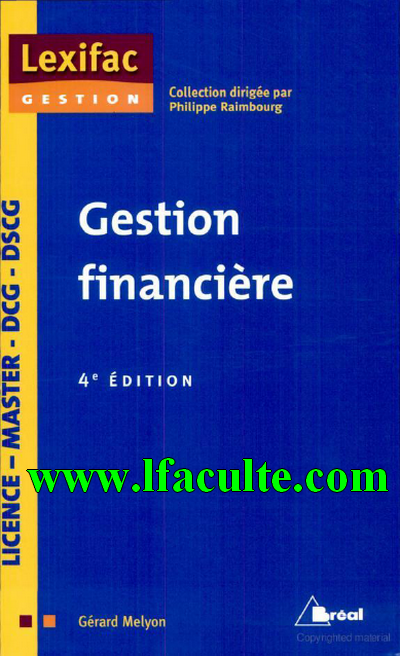 La facult t l charger gestion financi - Telecharger table financiere gratuitement ...