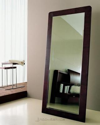 Espejos para un dormitorio moderno for Espejo pared dormitorio