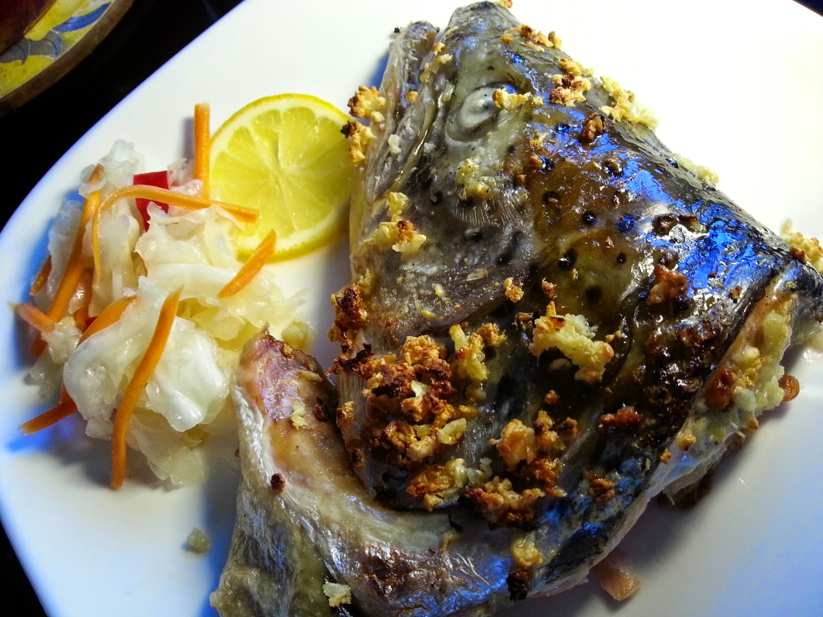 Just Marinate The Salmon Fish Head With Pinch Of Salt + 1 Tbs Of Onion Oil  4 How To Bake