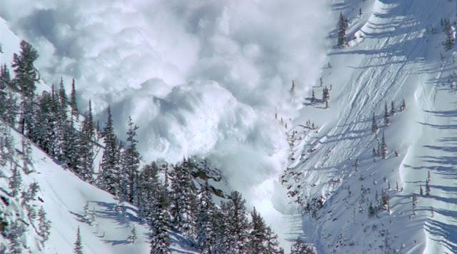 фото сход лавины