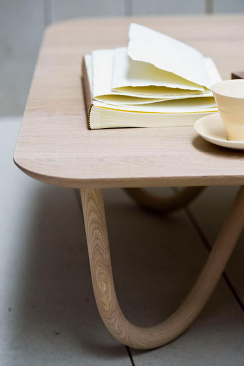 Willo Natural Coffee Table Design